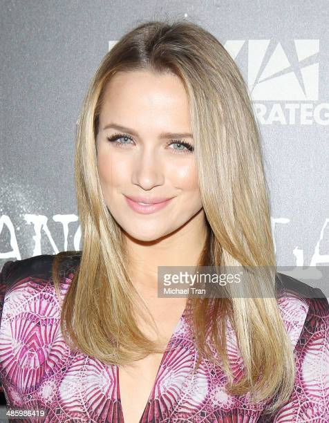 Shantel VanSanten arrives at FOX's 'Gang Related' TV series premiere held at Homeboy Industries on April 21 2014 in Los Angeles California