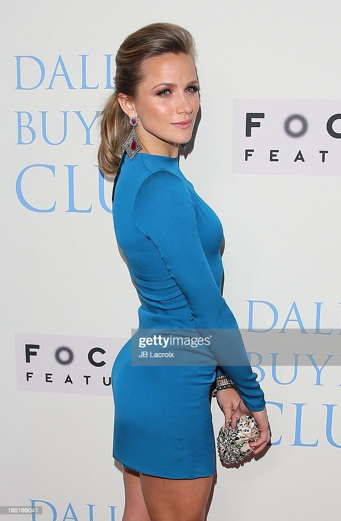 <a gi-track='captionPersonalityLinkClicked' href=/galleries/search?phrase=Shantel+VanSanten&family=editorial&specificpeople=4433467 ng-click='$event.stopPropagation()'>Shantel VanSanten</a> attends the 'Dallas Buyers Club' Los Angeles premiere held at the Academy of Motion Picture Arts and Sciences on October 17, 2013 in Beverly Hills, California.