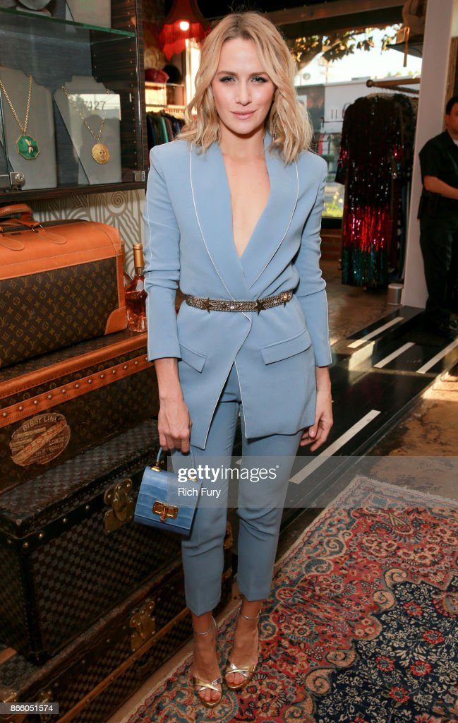 Shantel VanSanten attends the Platt Boutique Jewelry and The Kit Vintage Opening Celebration on October 24, 2017 in Los Angeles, California.