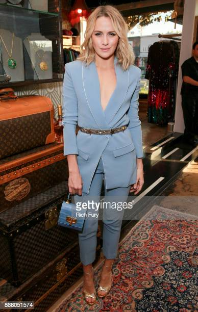 Shantel VanSanten attends the Platt Boutique Jewelry and The Kit Vintage Opening Celebration on October 24 2017 in Los Angeles California