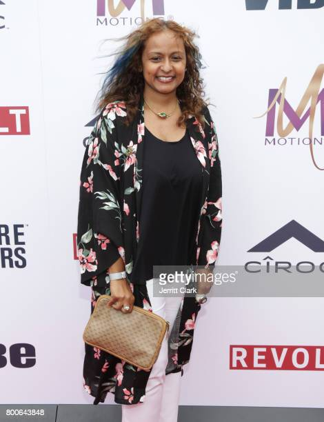 Shanti Das attends Culture Creators 2nd Annual Awards Brunch Presented By Motions Hair And Ciroc at Mr C Beverly Hills on June 24 2017 in Beverly...