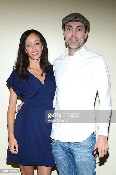 Shanti Lowry and James Haven attend 'By The Way' Los Angeles press and media screening at Charles Aidikoff Screening Room on July 7 2012 in Beverly...