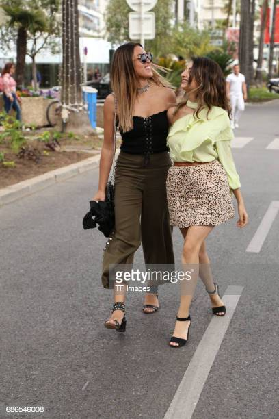 Shanti Tan and Ischtar Isik attends the 70th annual Cannes Film Festival on May 18 2017 in Cannes France