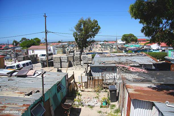 Shanty town suburb (also know as squatter settlement).