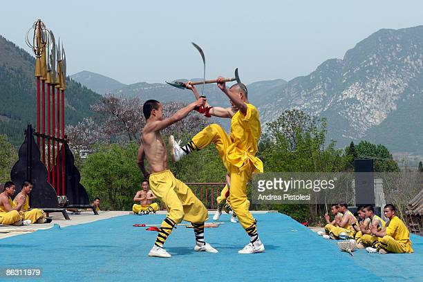 Shaolin Kung Fu show in Defeng Once upon a time there were Shaolin warrior monks at the monastery in Sun Song forest which is on one of China's...