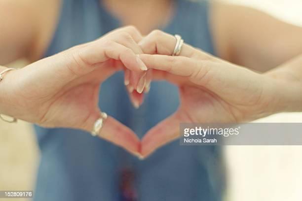 Shaping heart