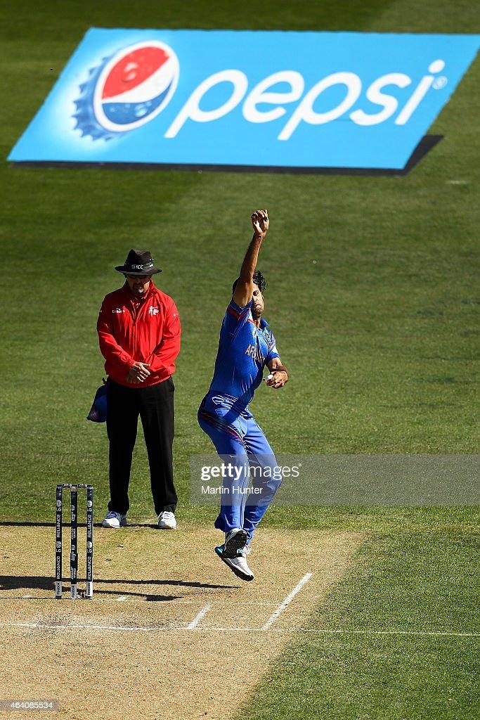 Sri Lanka v Afghanistan - 2015 ICC Cricket World Cup