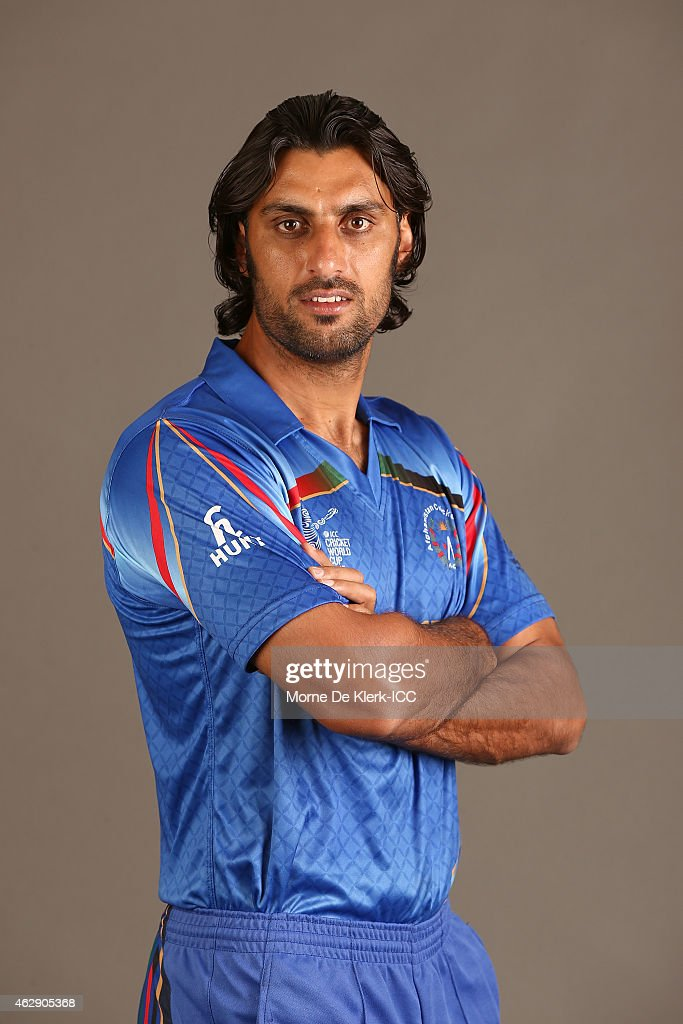 <a gi-track='captionPersonalityLinkClicked' href=/galleries/search?phrase=Shapoor+Zadran&family=editorial&specificpeople=6217332 ng-click='$event.stopPropagation()'>Shapoor Zadran</a> poses during the Afghanistan 2015 ICC Cricket World Cup Headshots Session at the Intercontinental on February 7, 2015 in Adelaide, Australia.