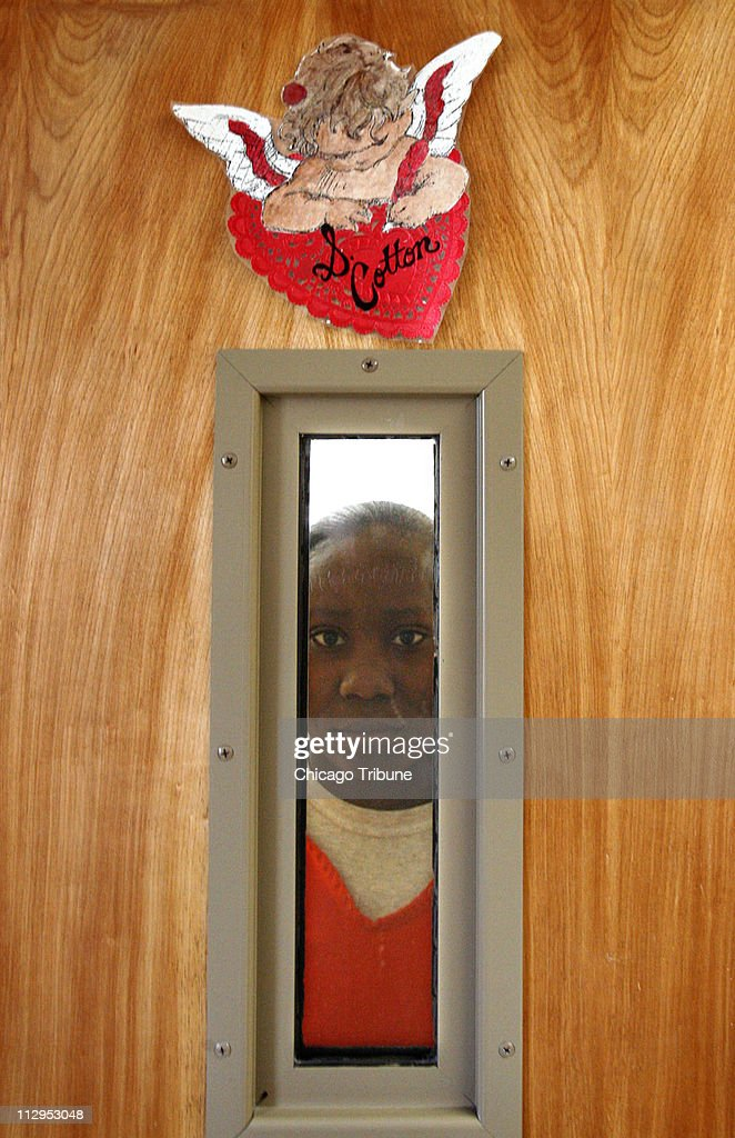Shaquanda Cotton, 14, Stands In Her Dorm Room At The Ron Jac Part 47