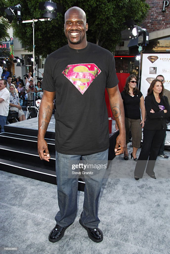 Shaquille O'Neal at the Mann's Village and Bruin Theaters in Westwood, California