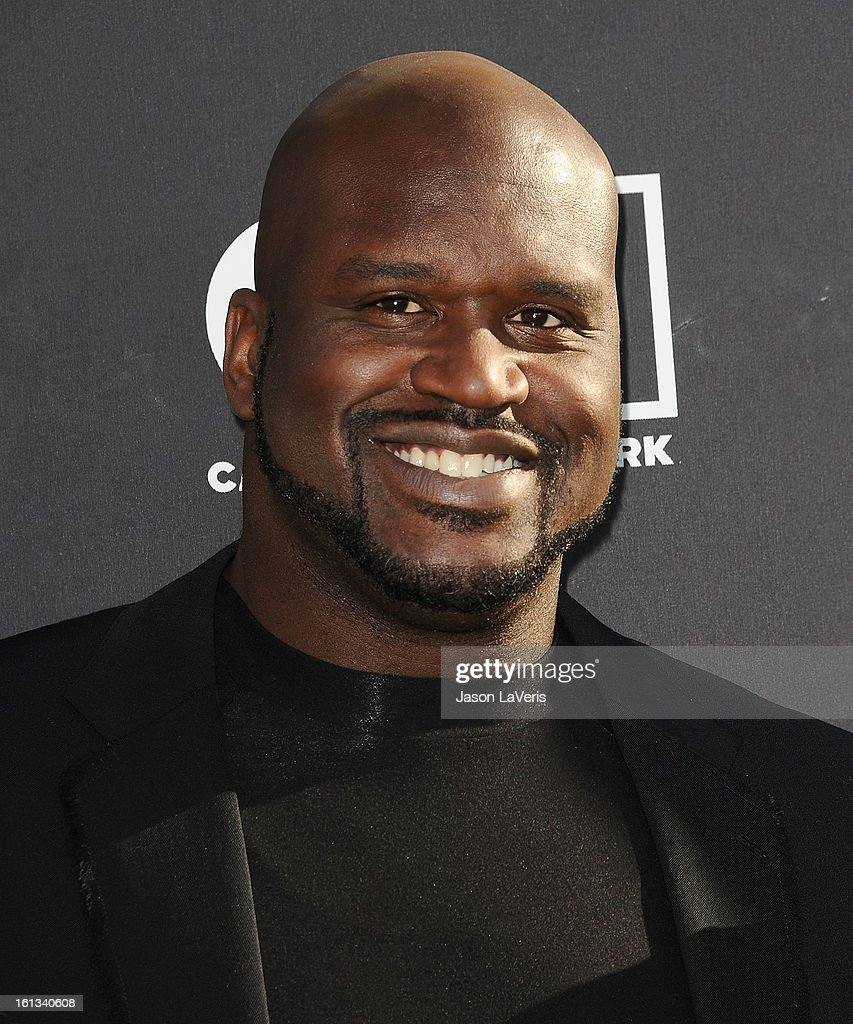 <a gi-track='captionPersonalityLinkClicked' href=/galleries/search?phrase=Shaquille+O%27Neal&family=editorial&specificpeople=201463 ng-click='$event.stopPropagation()'>Shaquille O'Neal</a> attends the Cartoon Network 3rd annual Hall Of Game Awards at Barker Hangar on February 9, 2013 in Santa Monica, California.
