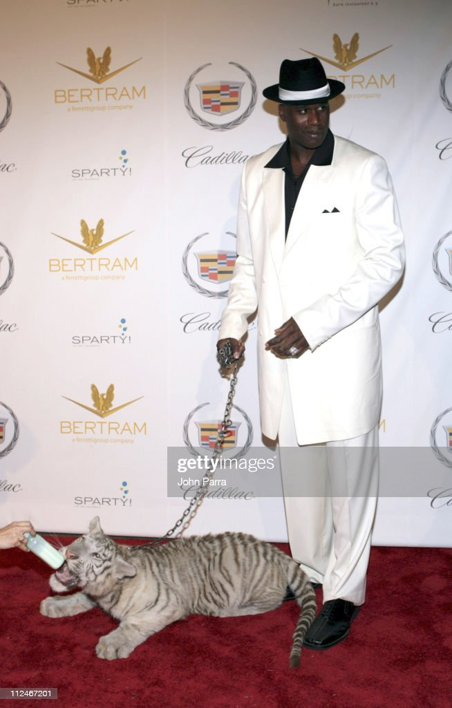 Shaquille O'Neal during Shaq's 34th 'Scarface' Birthday Party Arrivals at Indian Creek Island in Miami Beach Florida United States