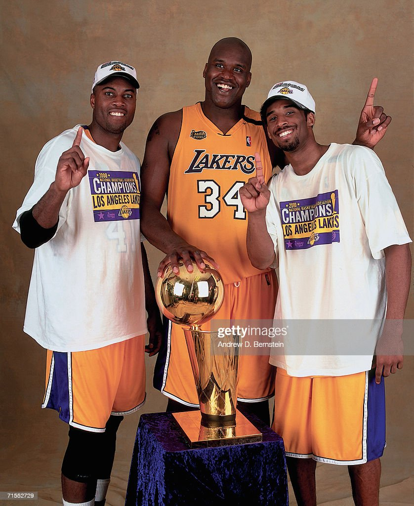 2000 NBA Finals Portraits Los Angeles Lakers