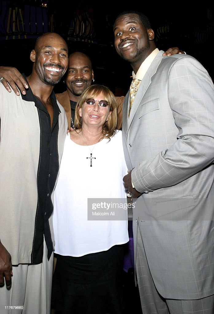 Shaquille O'Neal Penny Marshall Brian Russell and Karl Malone