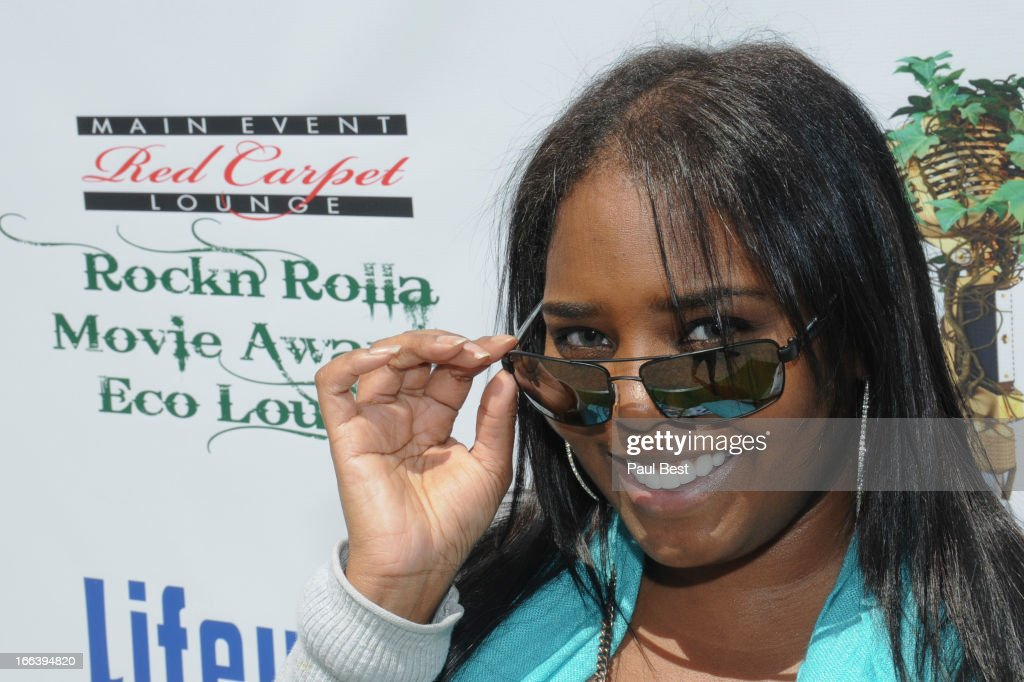 <a gi-track='captionPersonalityLinkClicked' href=/galleries/search?phrase=Shar+Jackson&family=editorial&specificpeople=228034 ng-click='$event.stopPropagation()'>Shar Jackson</a> attends 3rd Annual Rockn Rolla Movie Awards Eco Party on April 11, 2013 in Los Angeles, California.