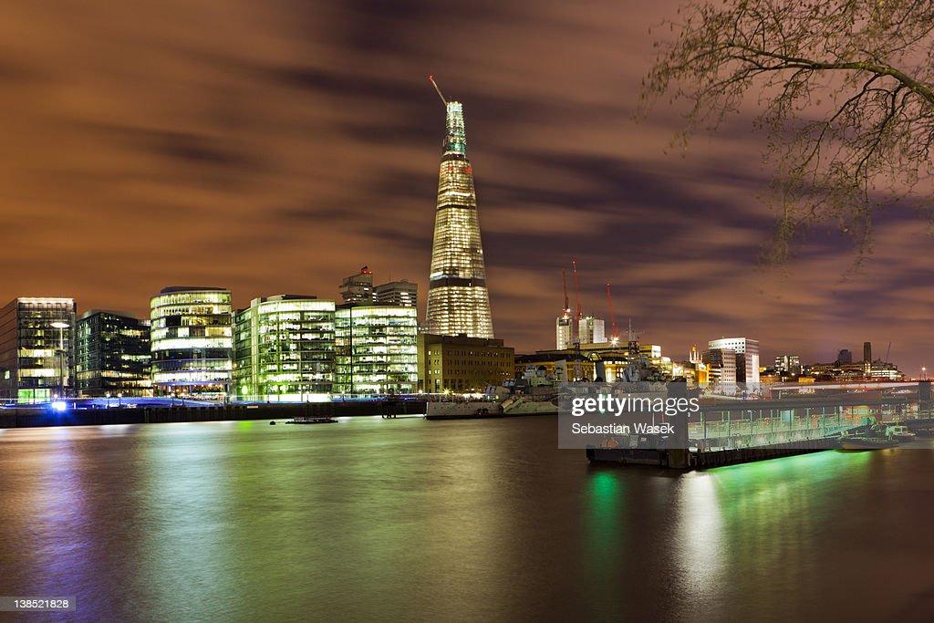Shard London bridge : Stock Photo
