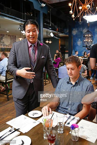 RESTAURANT 'Shared Plates' Episode 102 Pictured CK Chin and diners at Swift's Attic