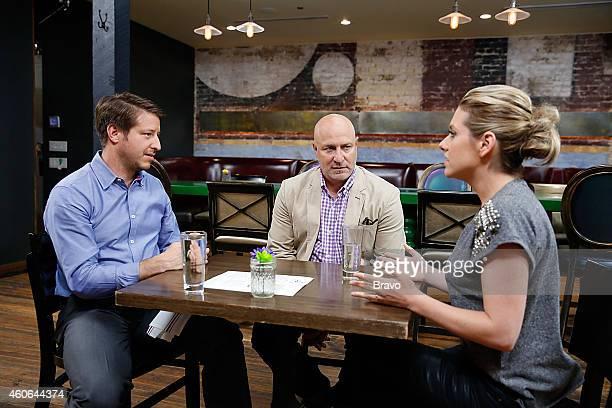 RESTAURANT 'Shared Plates' Episode 102 Pictured Jeffrey Zurofsky Tom Colicchio Maggie Nemser at Swift's Attic