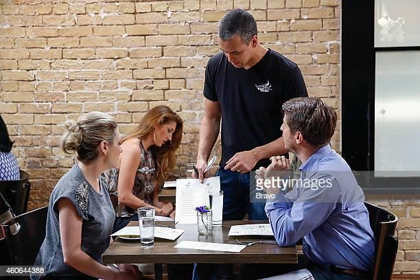 RESTAURANT 'Shared Plates' Episode 102 Pictured Maggie Nemser Jeffrey Zurofsky at Swift's Attic