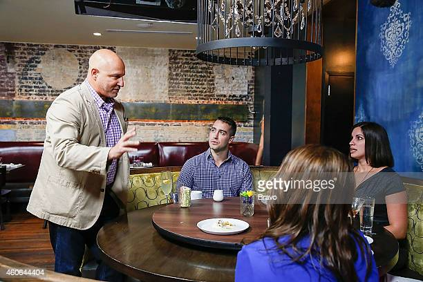 RESTAURANT 'Shared Plates' Episode 102 Pictured Tom Colicchio and diners at Swift's Attic