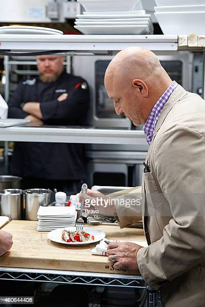 RESTAURANT 'Shared Plates' Episode 102 Pictured Tom Colicchio at Swift's Attic