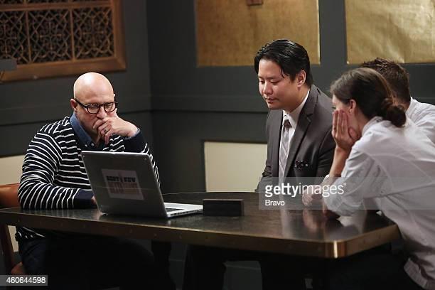 RESTAURANT 'Shared Plates' Episode 102 Pictured Tom Collichio CK Chin Callie Speer from Swift's Attic
