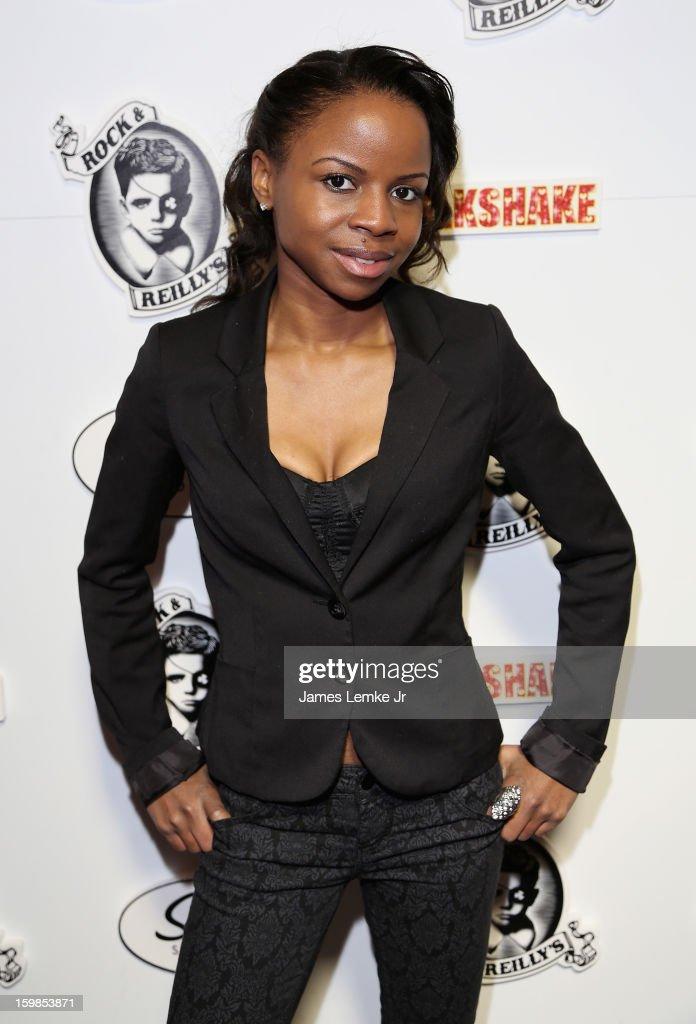 Shareeka Epps attends 'Milkshake' Official Cast And Filmmakers Brunch Sponsored By Siren on January 20, 2013 in Park City, Utah.