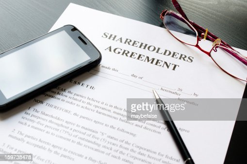 Shareholders Agreement Stock Photo | Getty Images