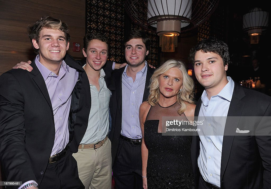 Sharen Turney and guests attend the 2013 Victoria's Secret Fashion after party at TAO Downtown on November 13 2013 in New York City