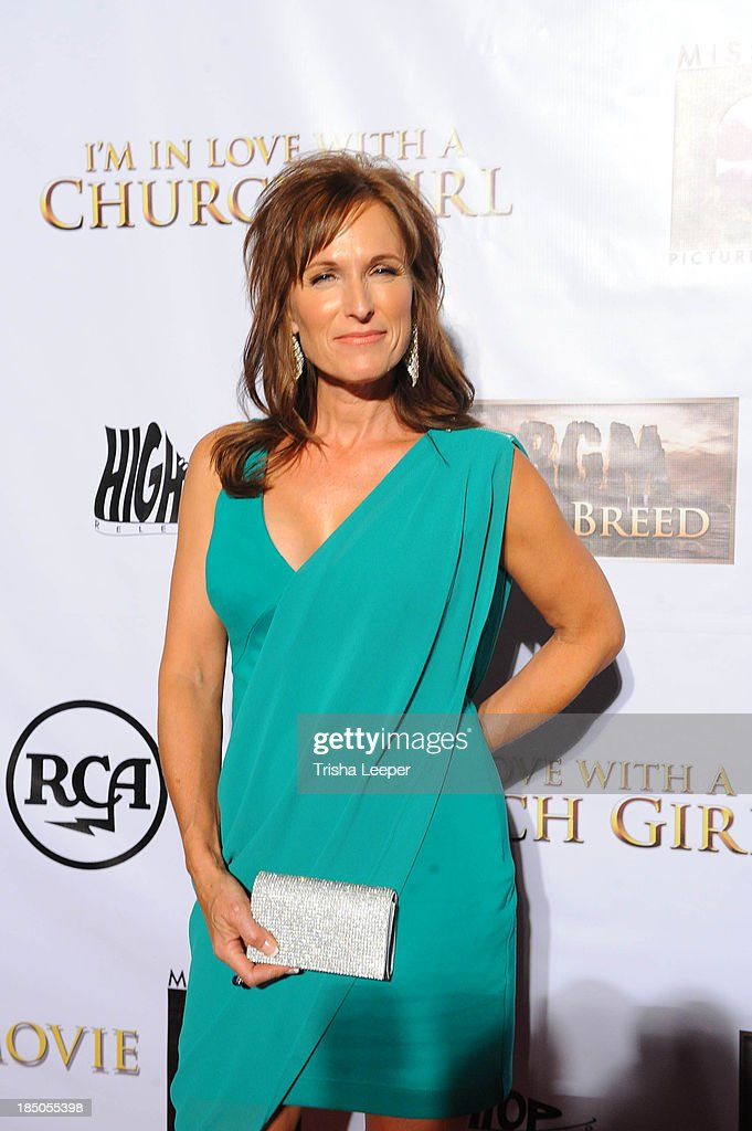 Shari Brigman attends the 'I'm In Love With A Church Girl' premiere at California Theatre on October 15, 2013 in San Jose, California.