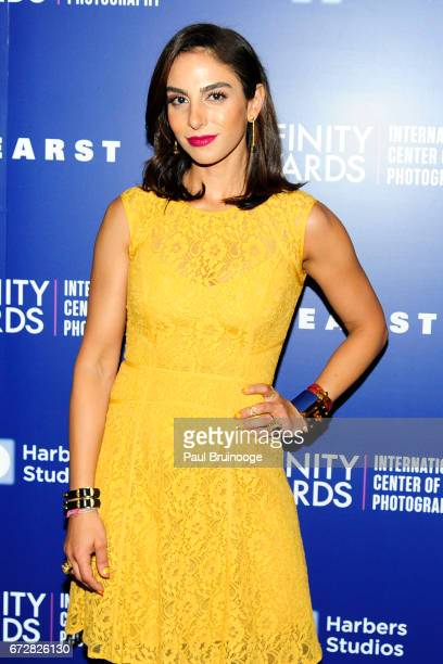 Shari Loeffler attends International Center of Photography 33rd Annual Infinity Awards at Pier Sixty at Chelsea Piers on April 24 2017 in New York...