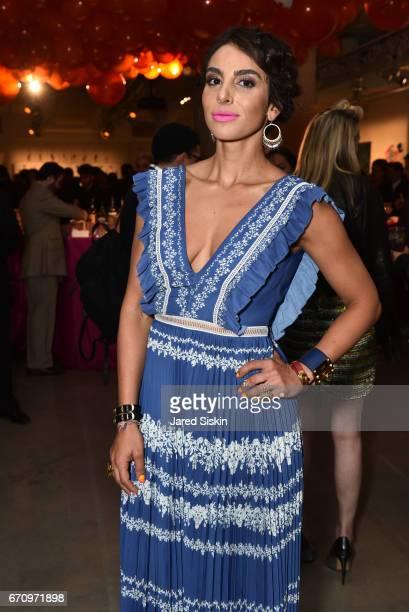 Shari Loeffler attends Public Art Fund's 40th Anniversary Benefit at Metropolitan West on April 20 2017 in New York City