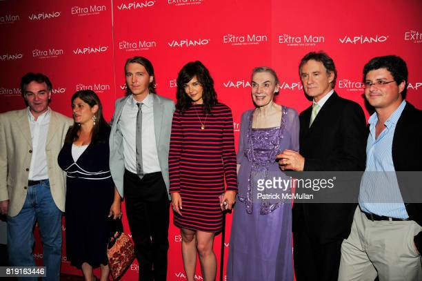 Shari Springer Berman Paul Dano Katie Holmes Marian Seldes Kevin Kline and attend Vapiano hosts the New York Premiere of THE EXTRA MAN red carpet...