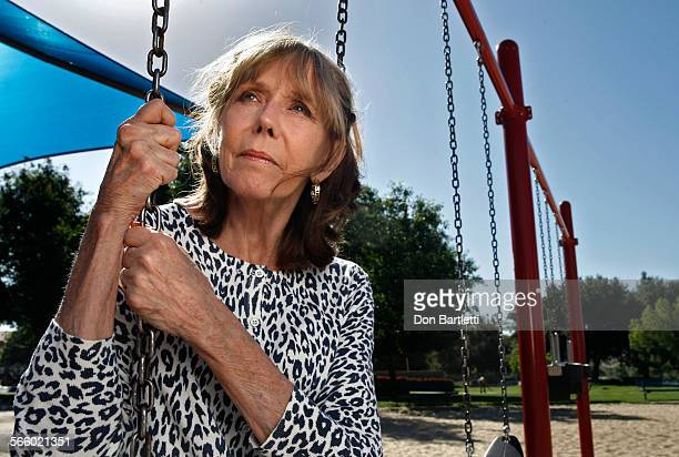 JUNE 20 2013 MURRIETA CA Shari Vener sits in a park near her home in Murrieta CA In the 1980's when her son Ryan was 13yearsold he was preyed upon by...