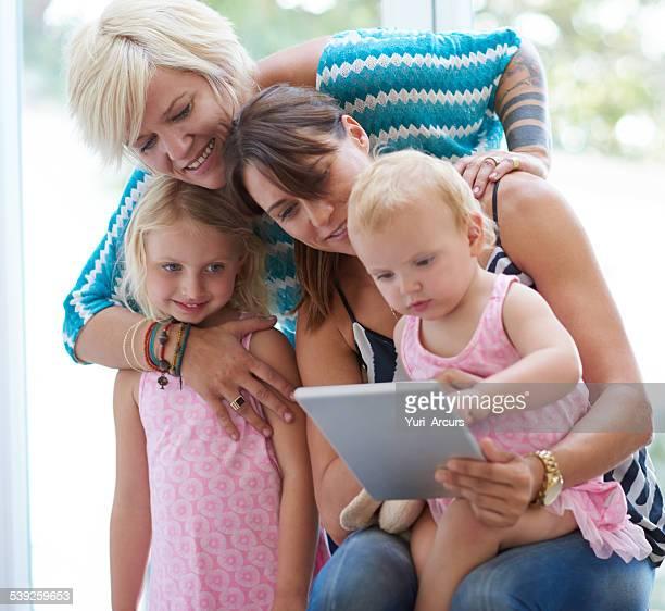 Sharing a digital moment