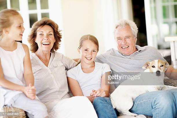 In einem speziellen bond mit unserem grandkids