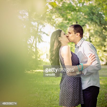 Sharing an intimate moment of romance : Stock Photo