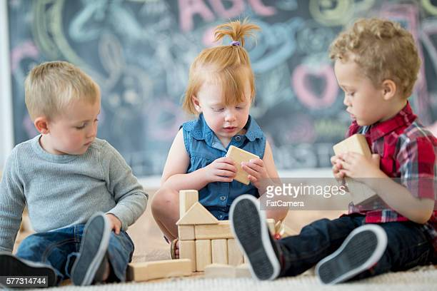 Sharing Wooden Blocks