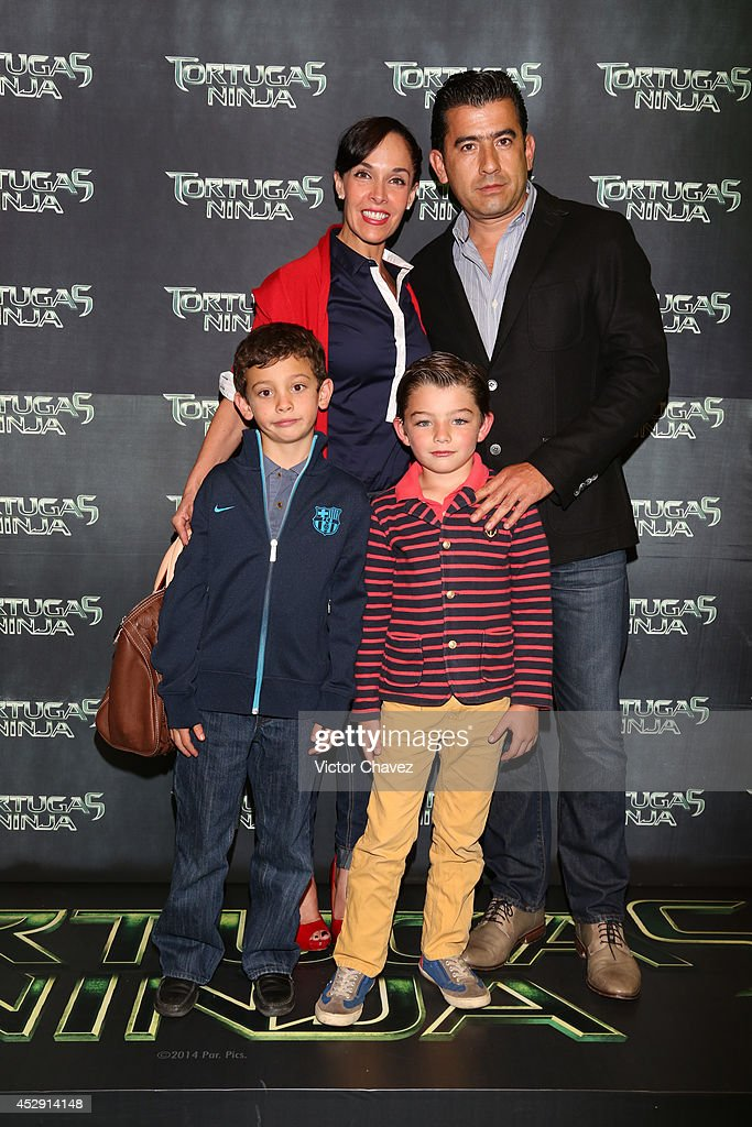 Sharis Cid attend the Latin American Premiere of Paramount Pictures' 'Teenage Mutant Ninja Turtles' at Cinepolis Acoxpa, on July 29, 2014 in Mexico City, Mexico.