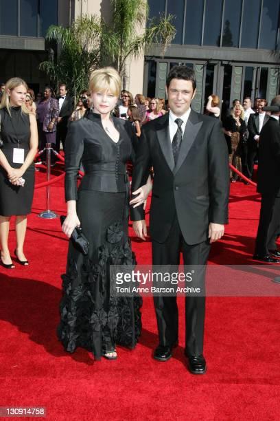 Sharisse BakerBernard and Carlos Bernard during 58th Annual Primetime Emmy Awards Arrivals at Shrine Auditorium in Los Angeles California United...