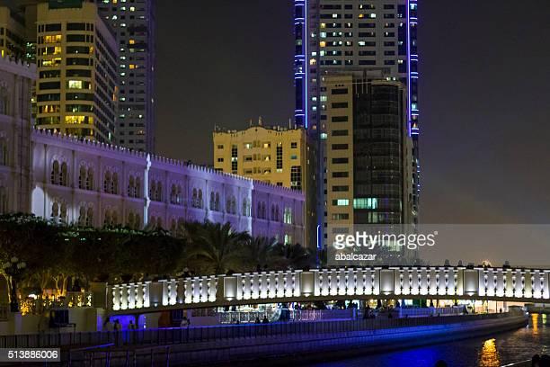 Sharjah, Al Qasba Canal