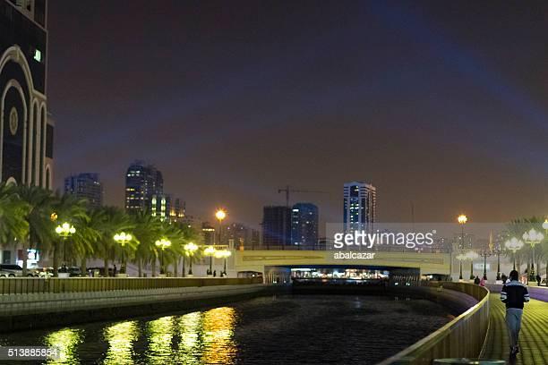 Sharjah, Qasba Canal