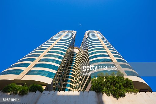 Sharjah - third largest and most populous city in UAE : Stock Photo