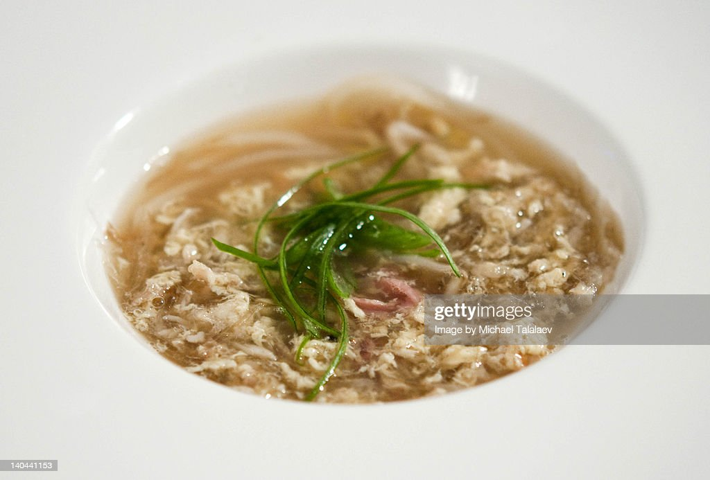 Shark Fin Soup : Stock Photo
