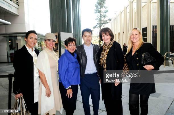 Sharla Barrett Christine Carmel Toni Yamin Phillip Lim Dori Schneider and Anne Platt attend Romance and Realism in Fashion with Phillip Lim at LACMA...