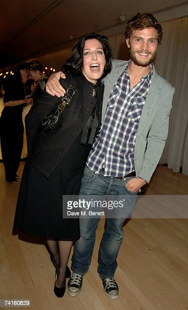 Sharleen Spiteri and Jamie Dornan attend a charity evening in aid of CLIC Sargent at the Sanderson Hotel on May 15 2007 in London England