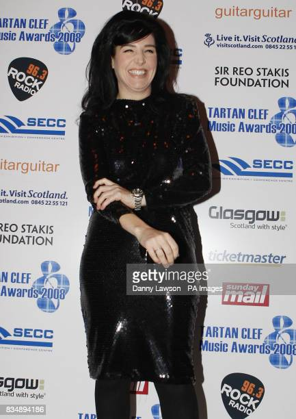 Sharleen Spiteri arrives ahead of the Tartan Clef Music Awards at the Old Fruitmarket in Glasgow