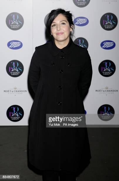 Sharleen Spiteri arrives for the 30 Days of Fashion and Beauty Gala Natural History Museum SW7