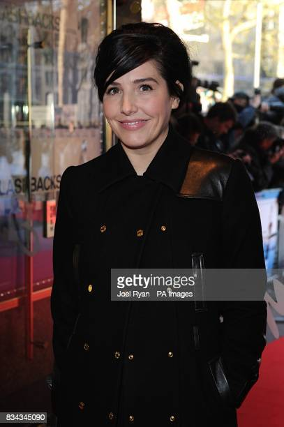 Sharleen Spiteri arrives for the world premiere of 'Flashbacks Of A Fool' at the Empire cinema in Leicester Square central London