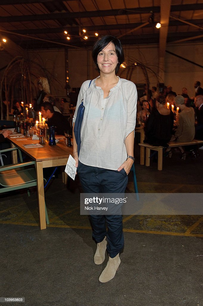 Sharleen Spiteri attends Hel Yes! - Design And Food From Helsinki Exhibition on September 9, 2010 in London, England.